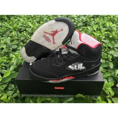AIR JORDAN 5 RETRO GS SUPREME BLACK
