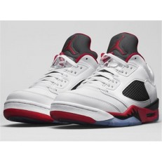 AIR JORDAN 5 RETRO LOW (GS) FIRE RED
