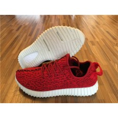 ADIDAS YEEZY BOOST 350 RED AND WHITE