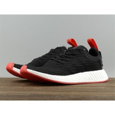 ADIDAS NMD R2 PK BLACK RED BA7252