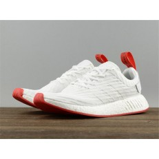 ADIDAS NMD R2 PK WHITE RED BA7253