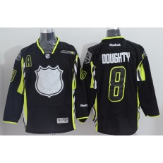 Los Angeles Kings #8 Drew Doughty Black 2015 All Star Stitched NHL Jersey