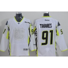 New York Islanders #91 John Tavares White 2015 All Star Stitched NHL Jersey