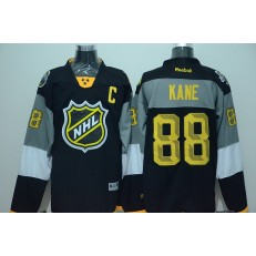Chicago Blackhawks #88 Patrick Kane Captain White 2016 All Star NHL Jersey