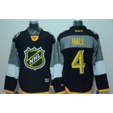 Edmonton Oilers #4 Taylor Hall Black 2016 NHL All Star Jersey