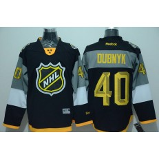 Minnesota Wild #40 Devan Dubnyk Black 2016 All Star NHL Jersey