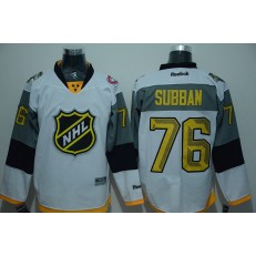Montreal Canadiens #76 P.K. Subban white 2016 NHL All-Star Jersey