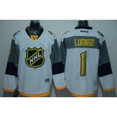 Nashville Predators #1 Roberto Luongo White 2016 All Star NHL Jersey