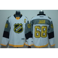 Nashville Predators #68 Jaromir Jagr White 2016 All Star Premier NHL Jersey