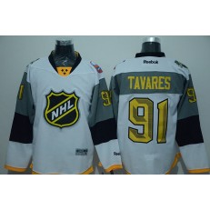 New York Islanders #91 John Tavares White 2016 All Star NHL Jersey