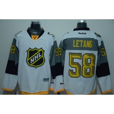 Pittsburgh Penguins #58 Kris Letang White 2016 All Star NHL Jersey