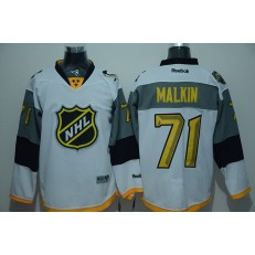 Pittsburgh Penguins #71 Evgeni Malkin White 2016 All Star NHL Jersey