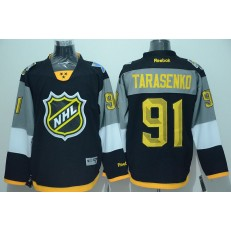 St.Louis Blues #91 Vladimir Tarasenko Black 2016 All Star NHL Jersey