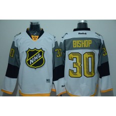 Tampa Bay Lightning #30 Ben Bishop White 2016 NHL All Star Jersey