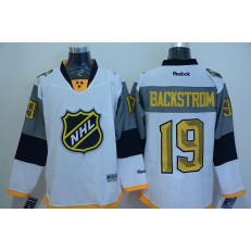 Washington Capitals #19 Nicklas Backstrom White 2016 All Star NHL Jersey