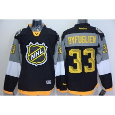 Winnipeg Jets #33 Dustin Byfuglien Black 2016 All Star NHL Jersey