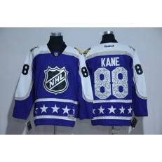 Chicago Blackhawks #88 Patrick Kane Purple Central Division 2017 All Star NHL Jersey