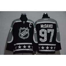 Edmonton Oilers #97 Connor McDavid Black Pacific Division 2017 All Star NHL Jersey