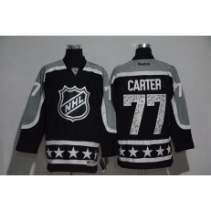 Los Angeles Kings #77 Jeff Carter Black Pacific Division 2017 All Star NHL Jersey
