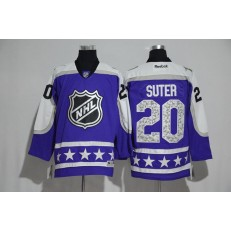 Minnesota Wild #20 Ryan Suter Purple Central Division 2017 All Star NHL Jersey