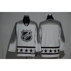 NHL 2017 All Star Metropolitan Division Blank White Men Jersey