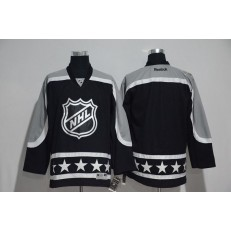 NHL 2017 All Star Pacific Division Blank Black Men Jersey
