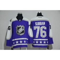 Nashville Predators #76 P.K. Subban Purple Central Division 2017 All Star NHL Jersey