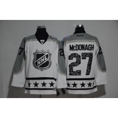 New York Rangers #27 Ryan Mcdonagh Metropolitan Division 2017 All Star MHL Jersey