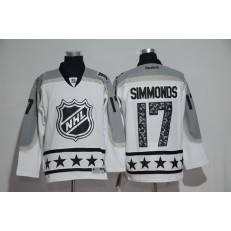 Philadelphia Flyers #17 Wayne Simmonds White Metropolitan Division 2017 All Star NHL Jersey