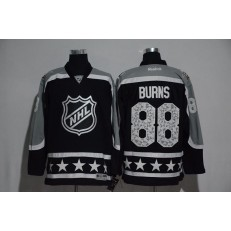 San Jose Sharks #88 Brent Burns Black Pacific Division 2017 All Star NHL Jersey