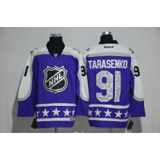 St.Louis Blues #91 Vladimir Tarasenko Purple Central Division 2017 All Star NHL Jersey