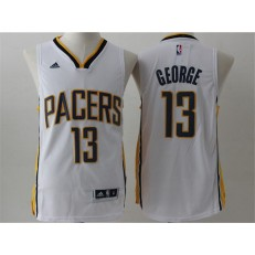 Indlana Pacers #13 Paul George Red Stitched NBA Jersey