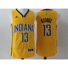 Indlana Pacers #13 Paul George Blue 2015 Stitched NBA Jersey