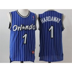 Orlando Magic #1 Penny Hardaway Blue Throwback Stitched NBA Jersey
