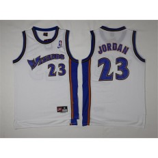 Washington Wizards #23 Michael Jordan White Stitched NBA Jersey