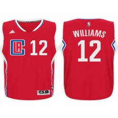 Los Angeles Clippers #12 Louis Williams Red 2015 Stitched NBA Jersey