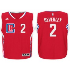 Los Angeles Clippers #2 Patrick Beverley Red 2015 Stitched NBA Jersey