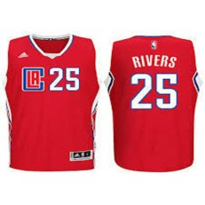 Los Angeles Clippers #25 Austin Rivers Red 2015 Stitched NBA Jersey