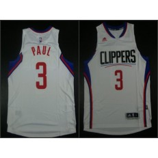 Los Angeles Clippers #3 Chris Paul White 2015 Stitched NBA Jersey