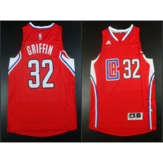 Los Angeles Clippers #32 Blake Griffin Red 2015 Stitched NBA Jersey