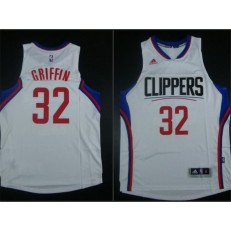 Los Angeles Clippers #32 Blake Griffin White 2015 Stitched NBA Jersey