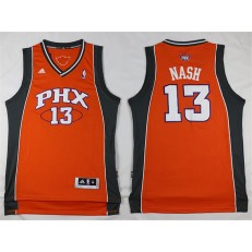 Phoenix Suns #13 Steve Nash Orange Stitched NBA Jersey