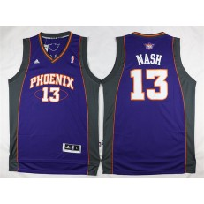 Phoenix Suns #13 Steve Nash Purple Stitched NBA Jersey