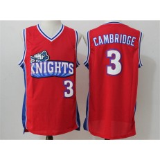 Movie Like Mike Los Angeles Knights #3 Calvin Cambridge Red Stitched Basketball Jersey