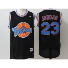 Movie Space Jam Tune Squad #23 Michael Jordan Black Stitched Basketball Jersey