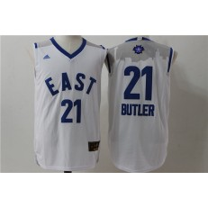 Chicago Bulls #21 Jimmy Butler White 2016 NBA All Star Jersey
