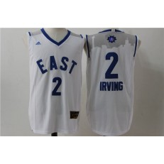 Cleveland Cavaliers #2 Kyrie Irving White 2016 NBA All Star Jersey