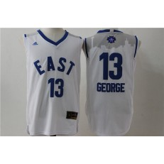 Indiana Pacers #13 Paul George White 2016 NBA All Star Jersey