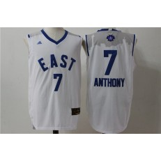 New York Knicks #7 Carmelo Anthony White 2016 NBA All Star Jersey