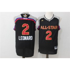 San Antonio Spurs #2 Kawhi Leonard Red 2016 NBA All Star Jersey